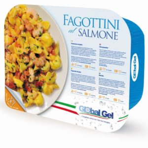 Fagottini al Salmone Global Gel - Frozen ready meal italian