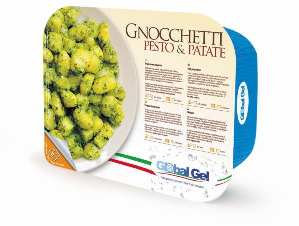 Gnocchetti Pesto e Patate - global gel uk - ready meal frozen italian
