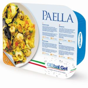 Paella - global gel uk - ready meal frozen italian