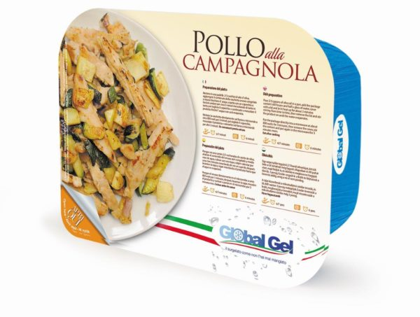 Pollo alla Campagnola - global gel uk - ready meal frozen italian