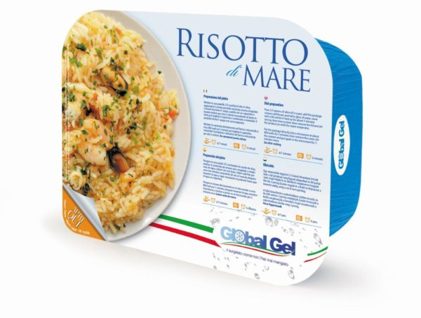 Risotto di Mare - global gel uk - ready meal frozen Italian