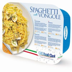 Spaghetti alle Vongole - global gel uk - ready meal frozen Italian