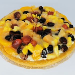 Crostata Di Frutta Cut