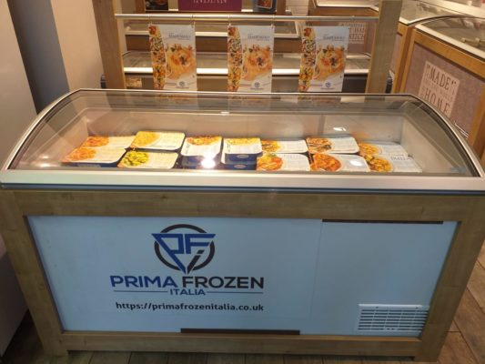 Frozen food supplier UK London ready meal delivery